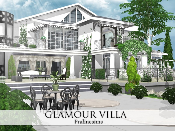 Glamour Villa by Pralinesims