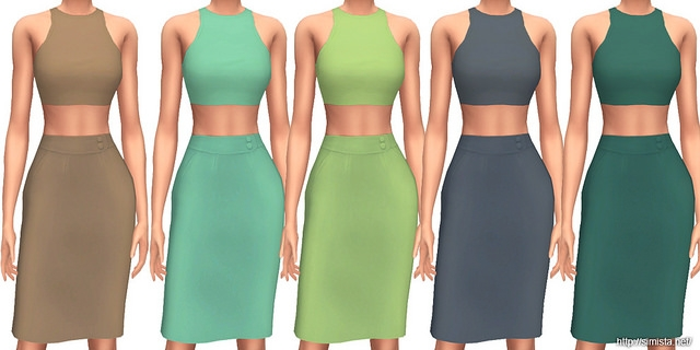 Alexa Dress Collection by Simista
