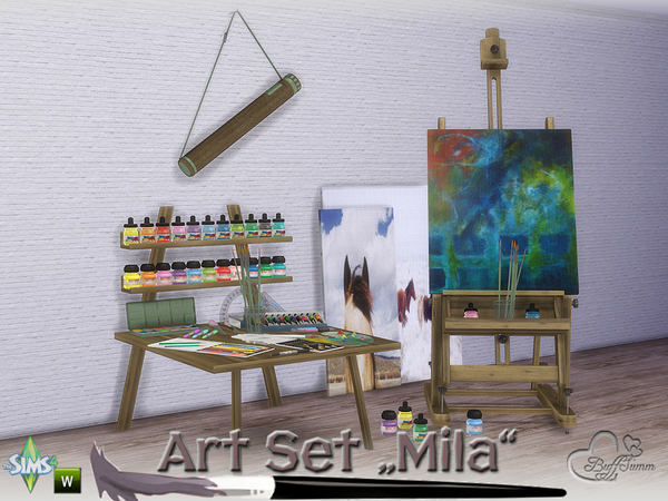 Mila Art Hobby Set by BuffSumm