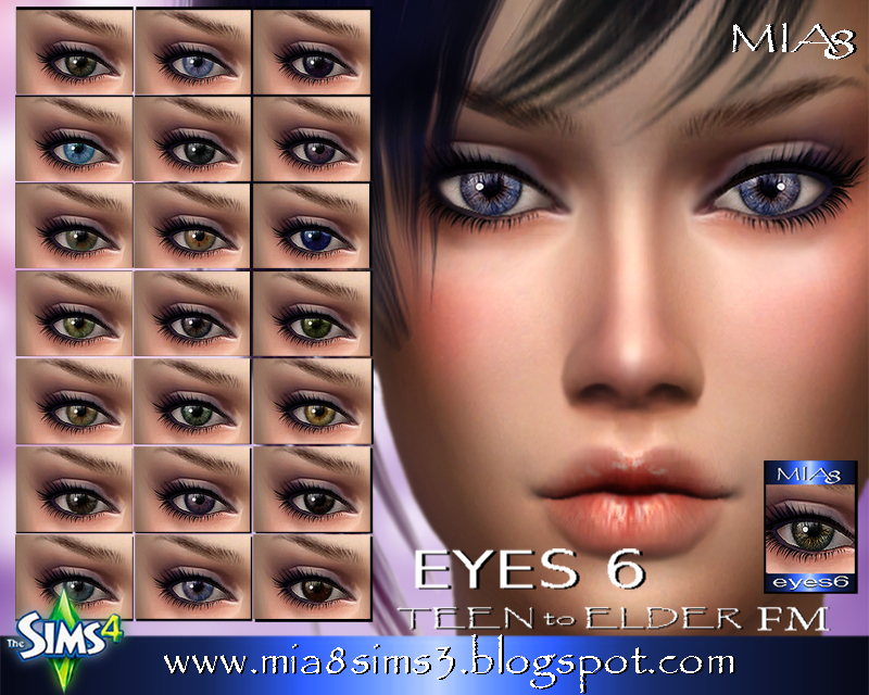 EYES 6 by Mia8