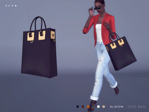 Albion Tote Bag by SLYD