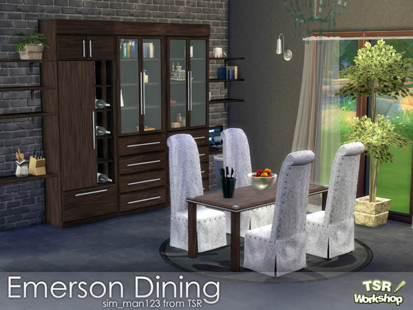 Emerson Dining Room by sim_man123