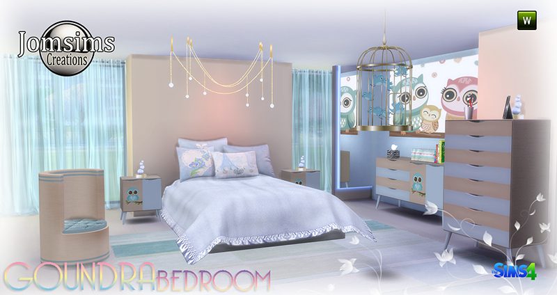 Goundra Bedroom Set by JomSims