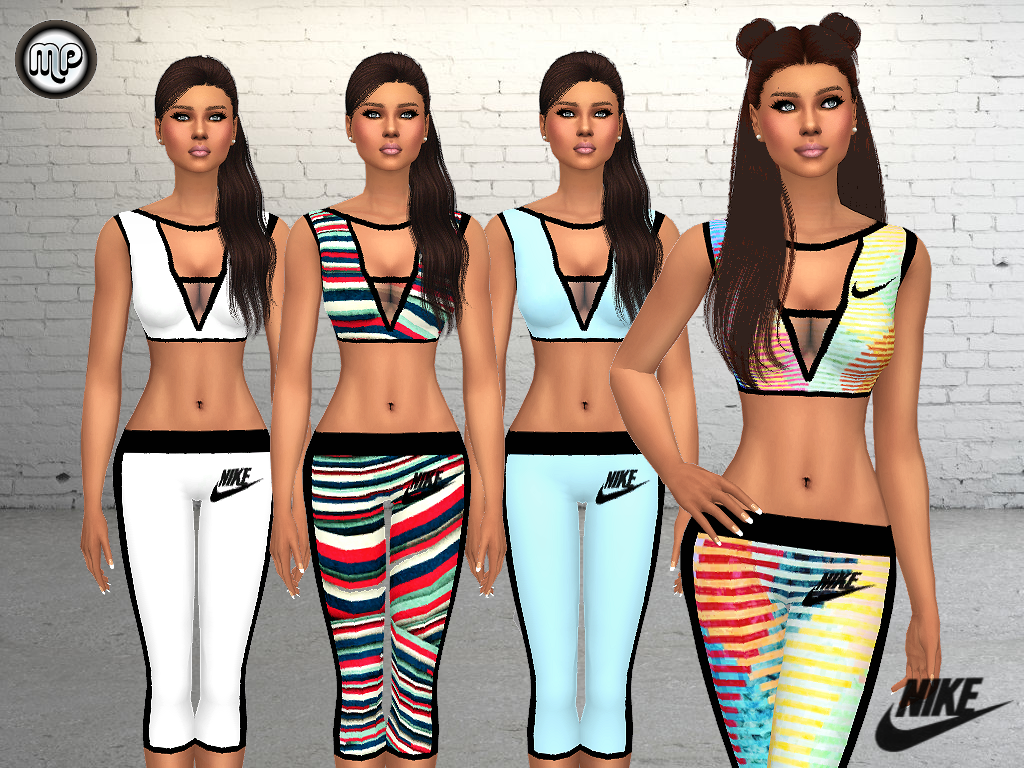 MP Nike Sport Outfit by MartyP