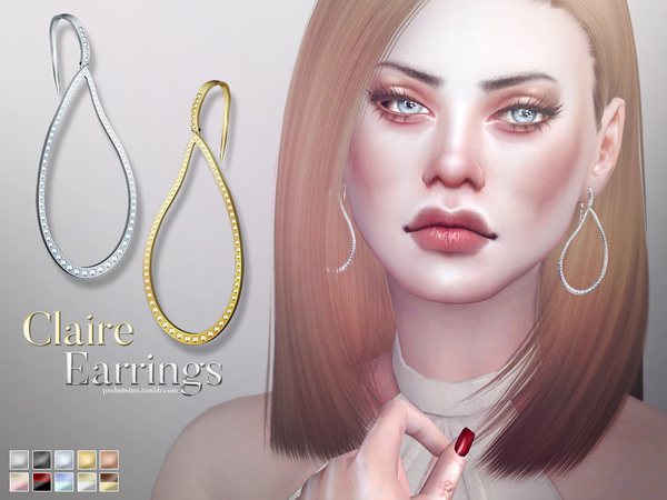 Claire Earrings by Pralinesims