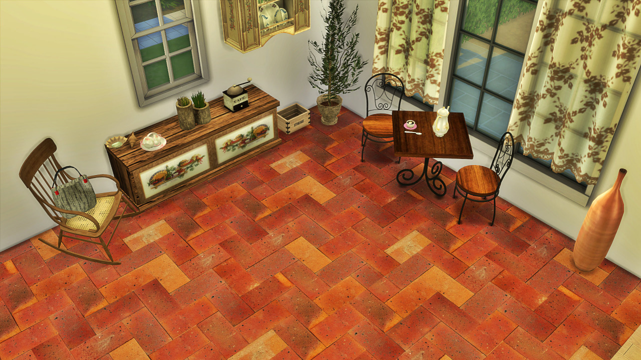Tile Floors от Tatschu