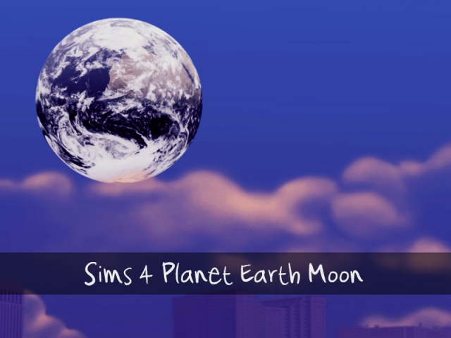Planet Earth Moon Mod by Xraitha
