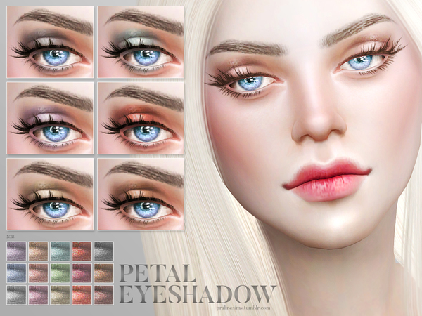 Petal Eyeshadow N28 by Pralinesims