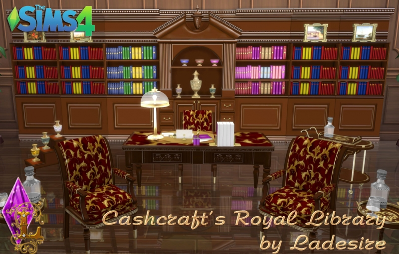 Cashcraft's Royal Library by Ladesire