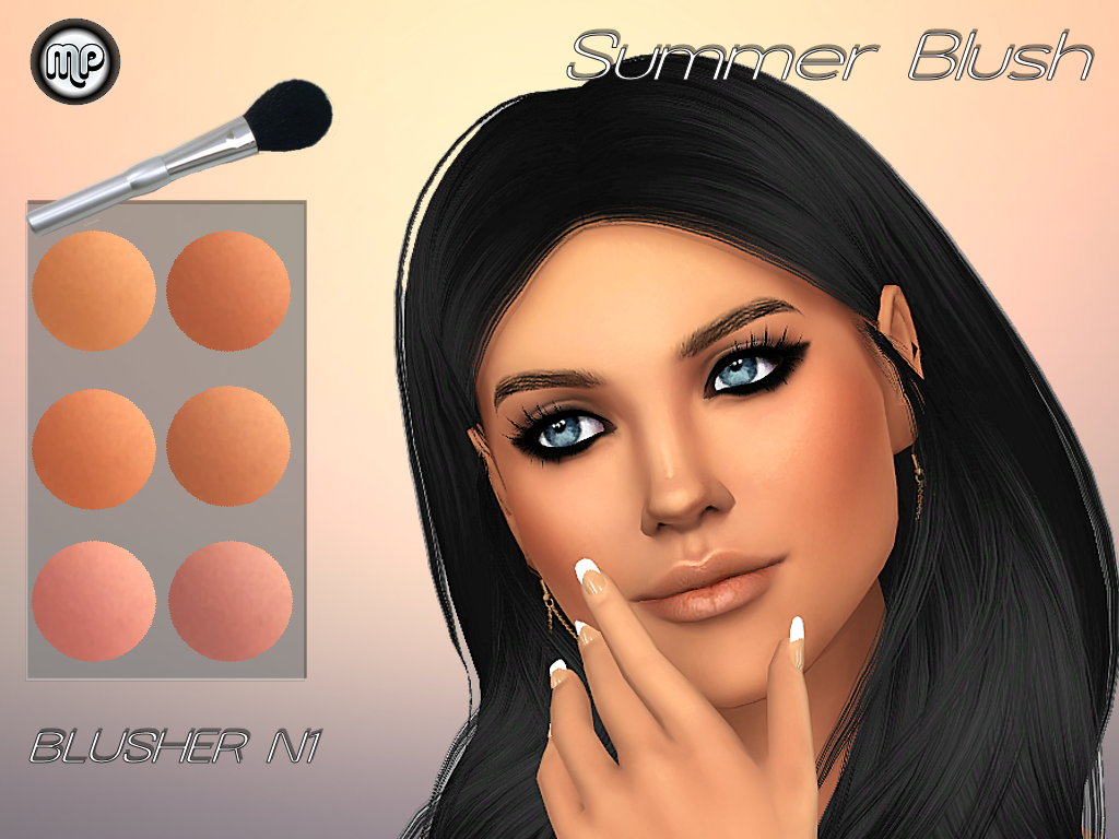 MP Blusher N1_Summer Blush by MartyP