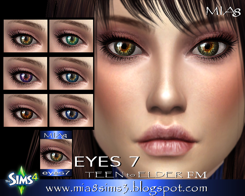EYES 7 by Mia8
