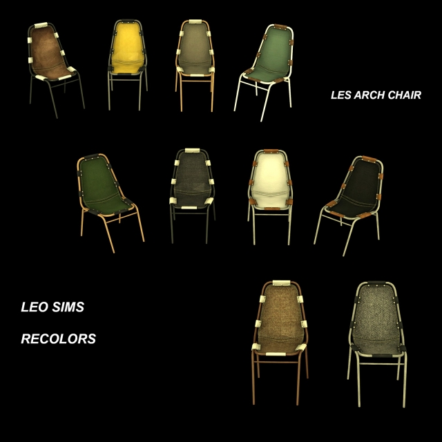 Les Arch Chair Conversion by Leo4Sims