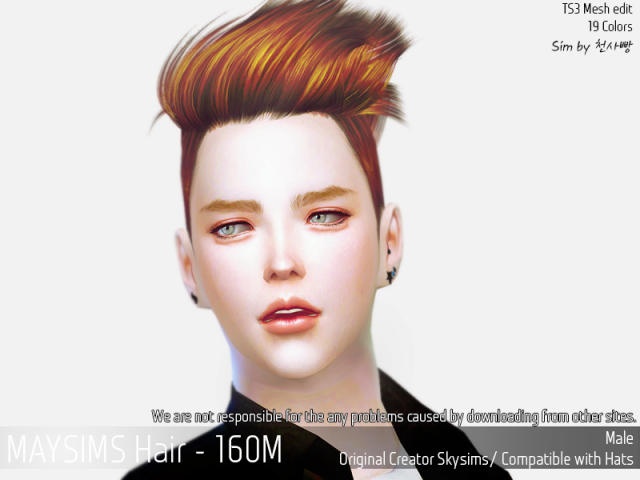 Hair160M by MaySims