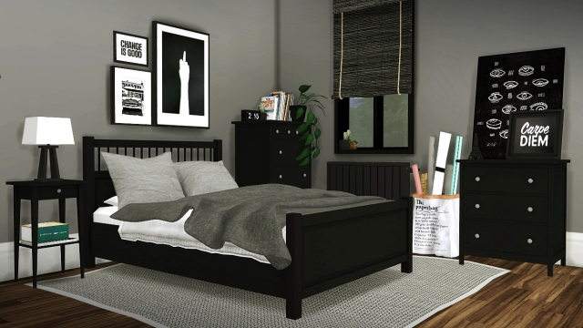 IKEA Hemnes Bedroom Set by MXIMS