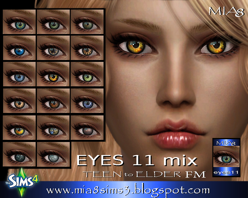 EYES 11 mix  by Mia8
