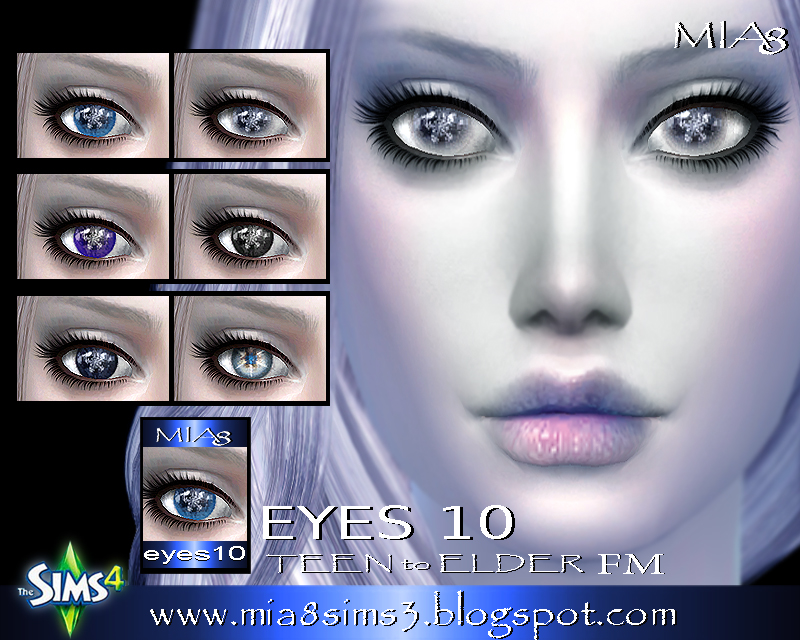 EYES 10 by Mia8