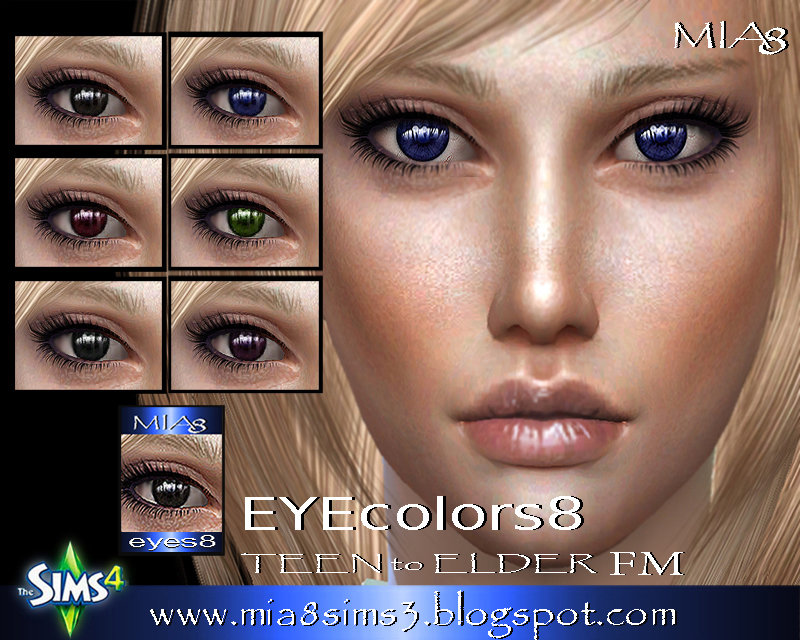 EYES 8 by Mia8