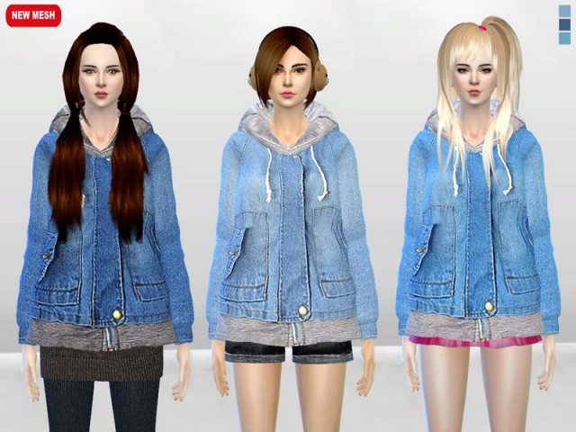 Big Yuki Onna Jacket by McLayneSims