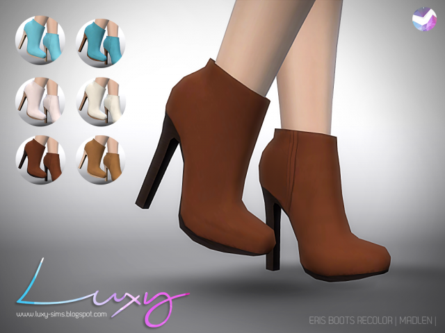 Eris Boots [RECOLOR] by Luxy
