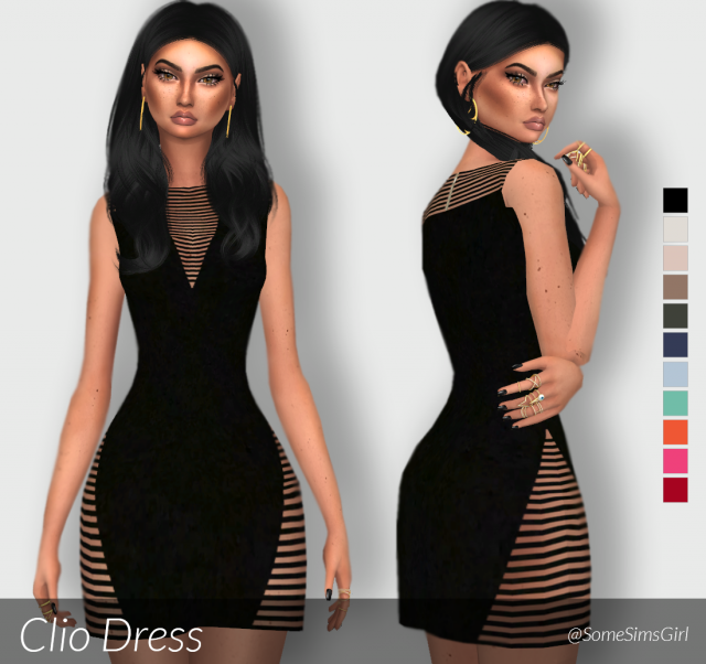 Clio Dress by SomeSimsGirl