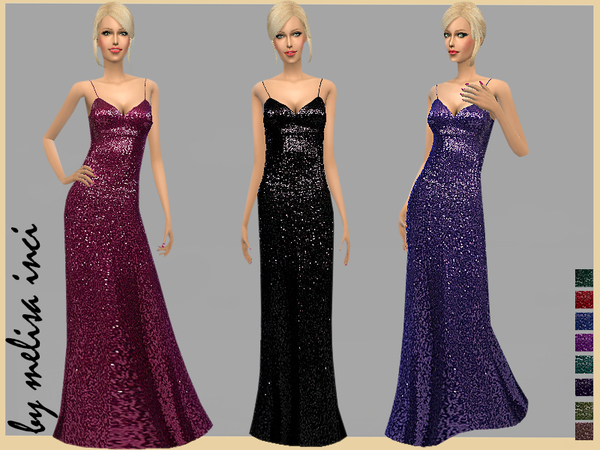 Sequin Gown by melisa inci