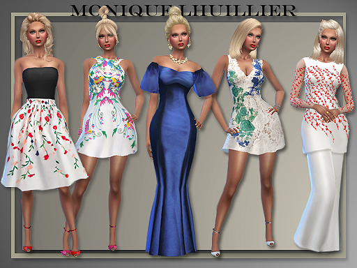 Monique Lhuillier Party Dresses by All-About-Style