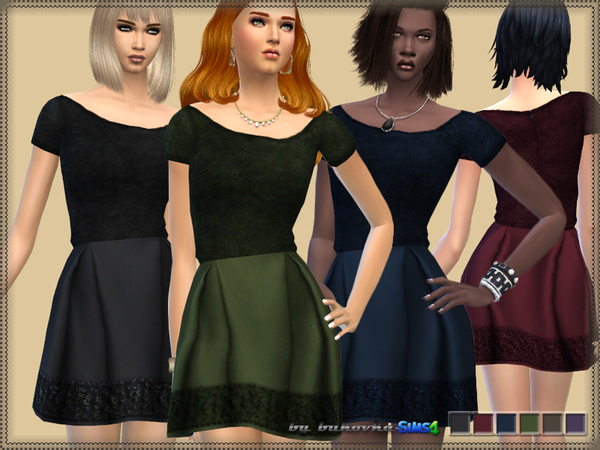 Dress Velvet Top by bukovka
