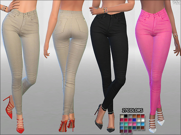 Summer Love Jeans by Pinkzombiecupcakes