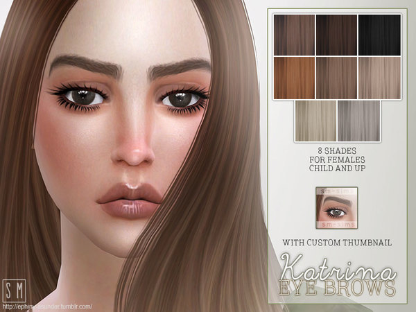 [ Katrina ] - Female Brows by Screaming Mustard