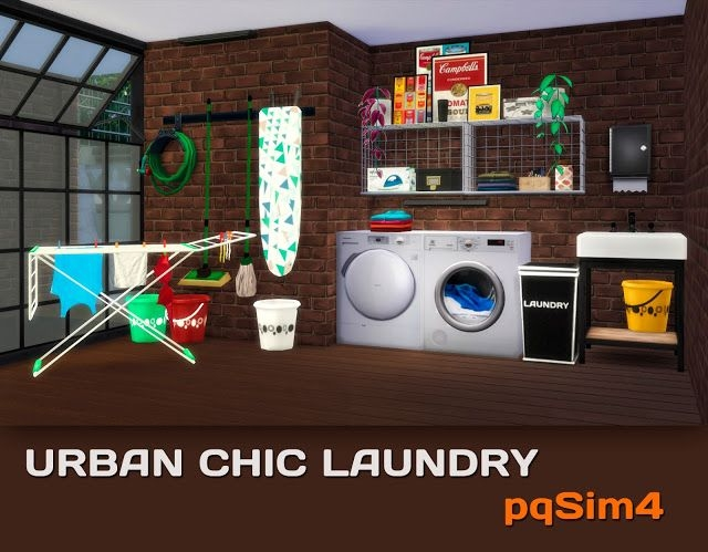 Urban Chic Laundry Set by pqsim4