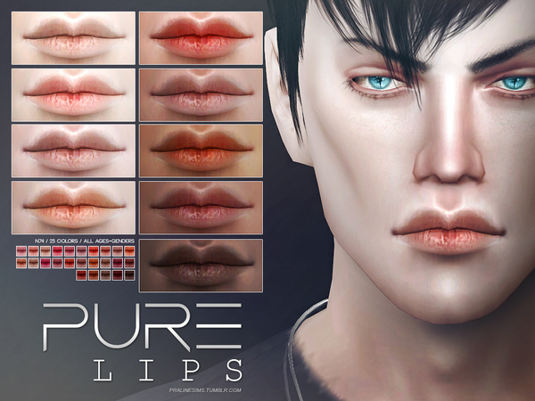 Pure Lips N74 by Pralinesims