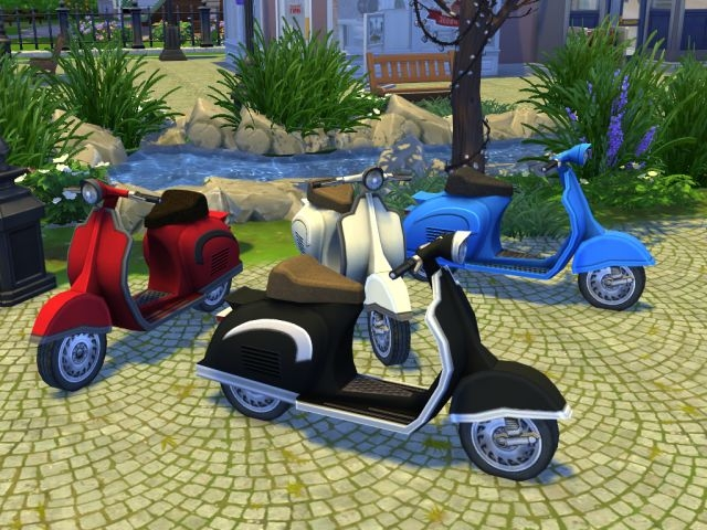 TS3 Scooter Conversion by EnureSims