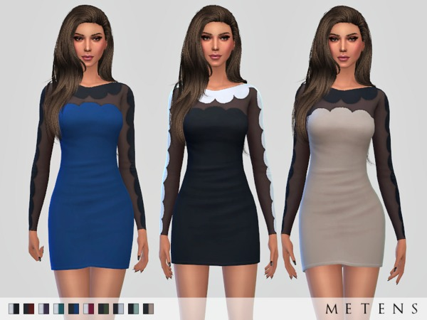 Preslava Dress by Metens