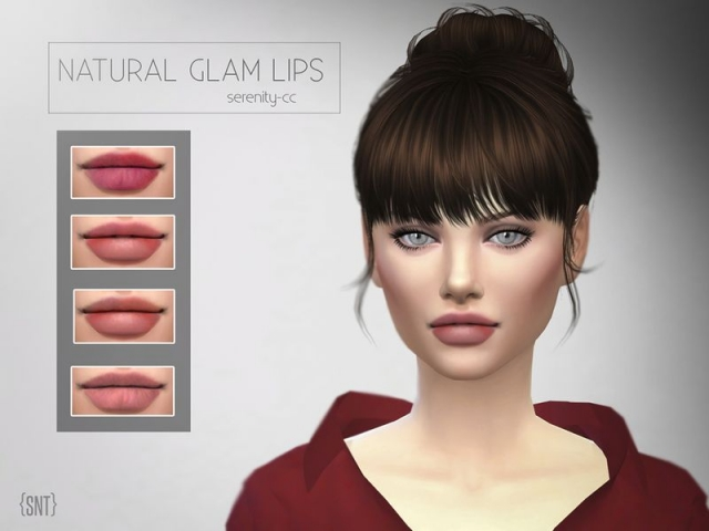 Glam Natural Lips by serenity