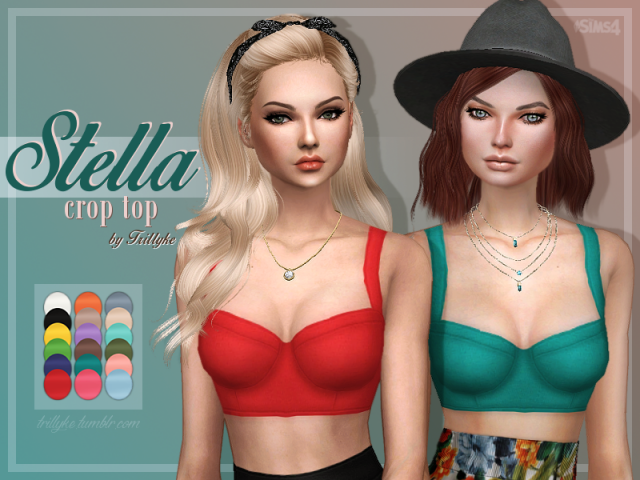 Stella Crop Top by Trillyke