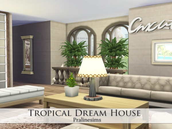 Tropical Dream House by Pralinesims