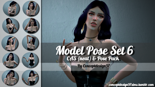 Model pose set 6 by ConceptDesign97