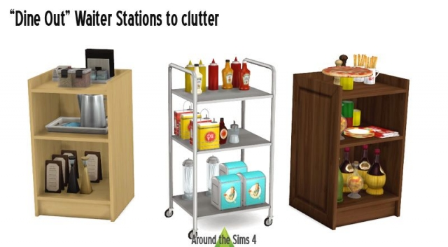 Dine Out Waiter Stations to Clutter от Sandy