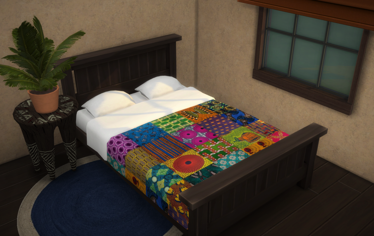 Updated Patchwork Bedding by Budgie2budgie