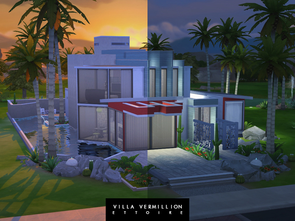 Villa Vermillion by Ettoire