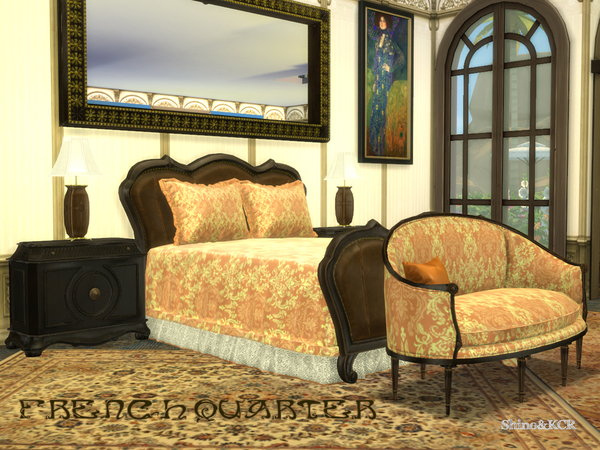 French Quarter Bedroom by ShinoKCR