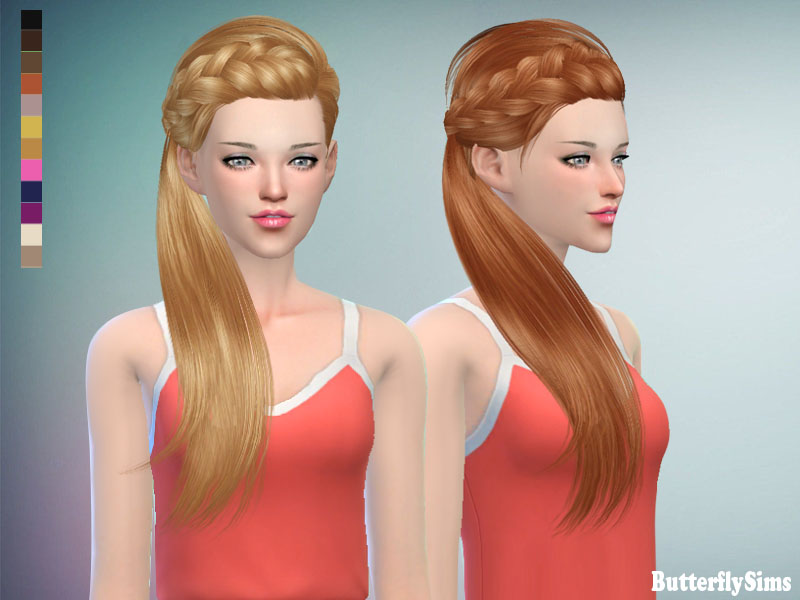 ButterflySims 162 Hair for Females
