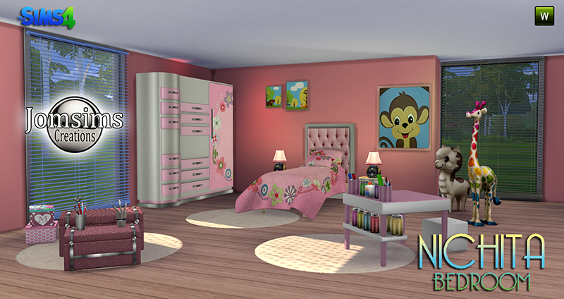 Nichita Kids Bedroom Set by JomSims