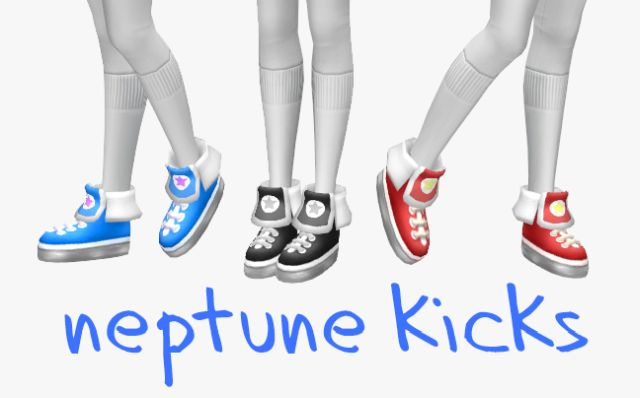NEPTUNE KICKS by Objuct