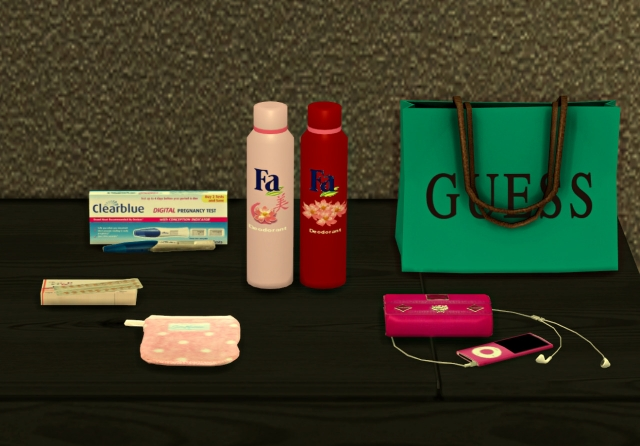 GIRLY CLUTTER by Leo-Sims
