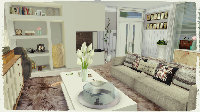 Modern Living Room by DinhaGamer