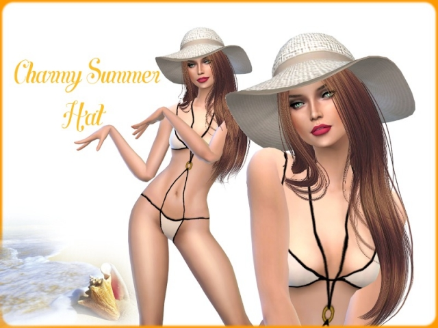 Charmy Summer Hat by Charmy Sims Portfolio