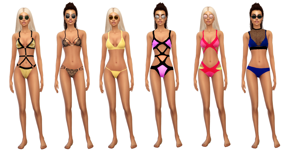 Swimsuits for Females by SimsBoutique