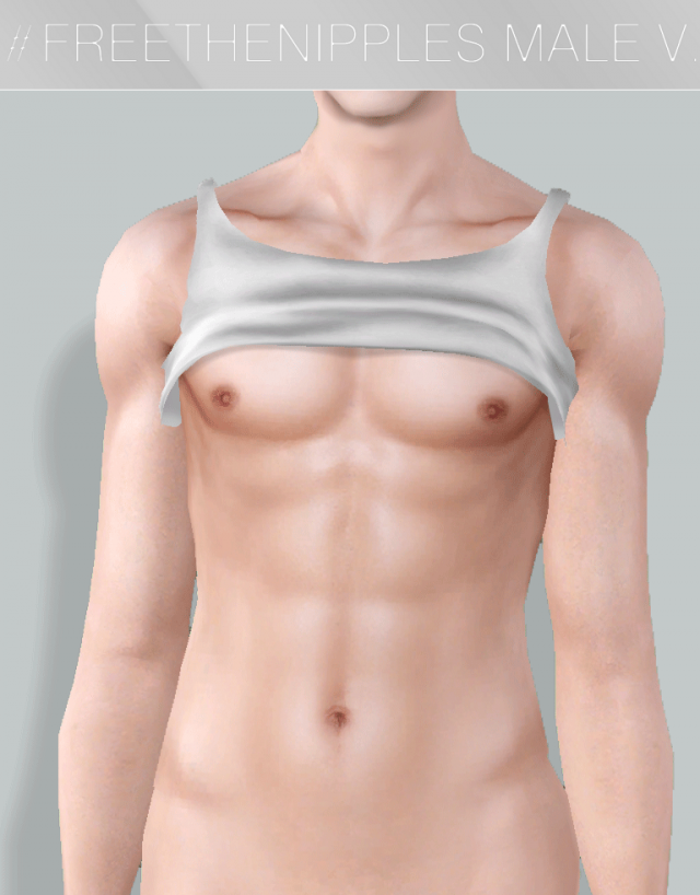 FREETHENIPPLE MALE VERSION by GramSims