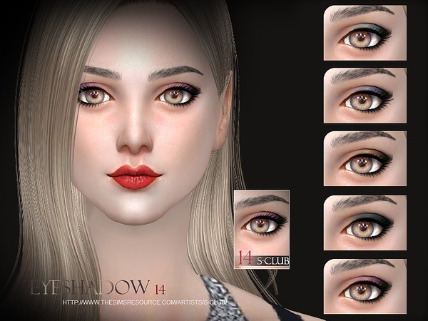 S-Club WM thesims4 Eyeshadow 14